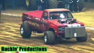 getlinkyoutube.com-SUPER MODIFIED 4WD TRUCKS ALLTECH ARENA LEXINGTON KY FRIDAY NIGHT 1-3-14