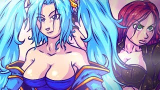 getlinkyoutube.com-I CAN MILK THESE..! League of Legends Music Parody