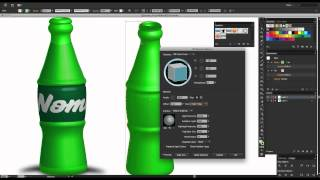 getlinkyoutube.com-Adobe Illustrator 3D Objects_Mapping Label to Bottle