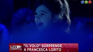getlinkyoutube.com-La emocionante sorpresa para Francesca Lorito - Laten Corazones