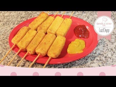 Aprende a cocinar - Dedos/Brochetas de Queso