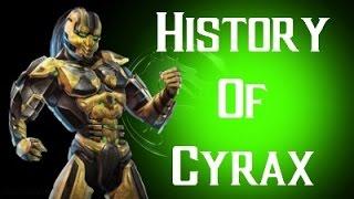 getlinkyoutube.com-History Of Cyrax Mortal Kombat X