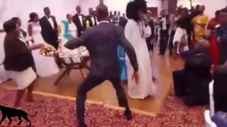 Pilato performs song GBM at GBM's daughter Thandi's wedding ceremony