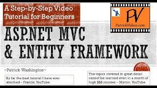 getlinkyoutube.com-ASP.NET MVC 5 Tutorial - Step by Step - PatrickVideos