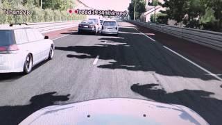 GT6 ドラレコ 「俺様はレクサス道はゆずらん!」のパロディ(サルト)