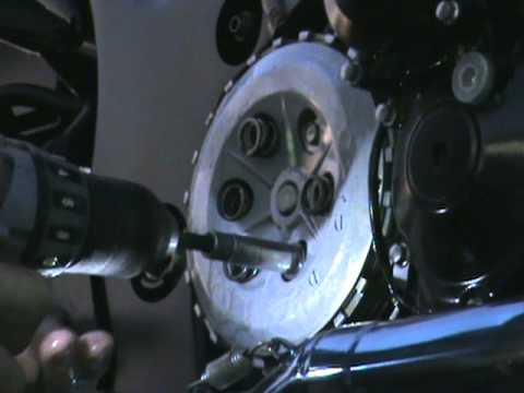 Hayabusa motorcycle new clutches install how to PART 4! Final