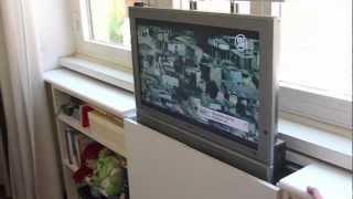 getlinkyoutube.com-IKEA BILLY TV LIFT.mov
