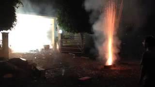 getlinkyoutube.com-Diwali fireworks exploded in the house