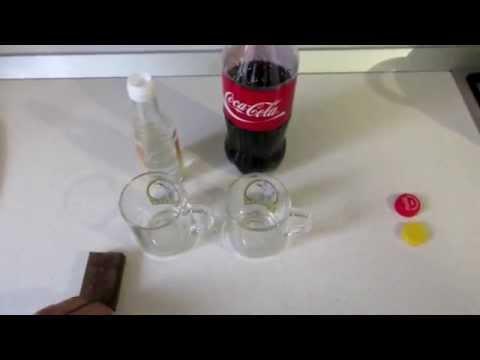 Как убрать ржавчину колой и уксусом