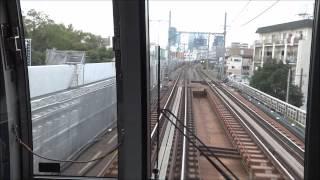getlinkyoutube.com-【前面展望】放出駅→京橋駅手前の複々線化工事(おおさか東線) 2014/11/08
