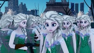 getlinkyoutube.com-Elsa The Snow Queen Emerald Dress Frozen Fever GTA 4 MOD HD