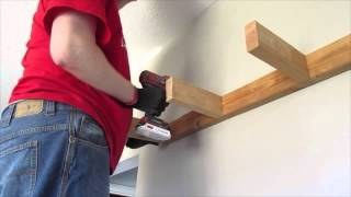 getlinkyoutube.com-HOW TO BUILD FLOATING SHELVES (HOUSEOFMEIS) DIY