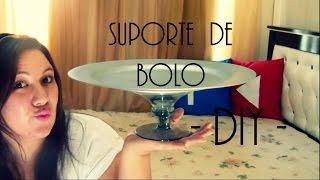 getlinkyoutube.com-DiY | Suporte de Bolo