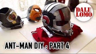 getlinkyoutube.com-#102: Ant-man Helmet Part 4 - End (free template 3) | Costume Prop | How To | Dali DIY