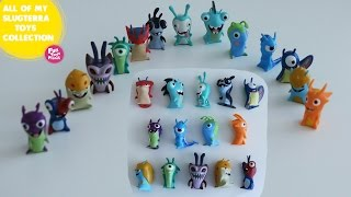 All Of My SLUGTERRA Toys Collection