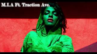 getlinkyoutube.com-M.I.A Ft. Traction Ave. | Double Trouble Bubble (Remix)