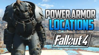 getlinkyoutube.com-Fallout 4 - ALL FULL POWER ARMOR LOCATIONS! T45, T51, Raider, T60 & X-01 (FO4 Power Armor Locations)