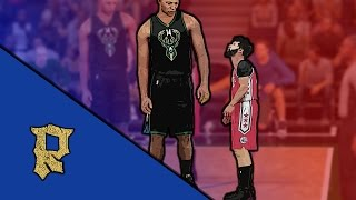 getlinkyoutube.com-NBA 2K16 | SHORT VS TALL PLAYERS!!! 99OVERALL VS 40 OVERALL