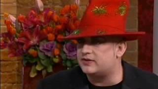 getlinkyoutube.com-Boy George on This Morning 17th October 2008