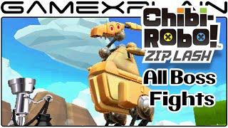 getlinkyoutube.com-Chibi Robo! Zip Lash -  All Boss Fights