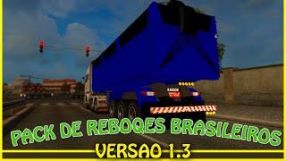 getlinkyoutube.com-Como baixar e instalar Pack de Reboques Brasileiros para ETS2 - V 1.18