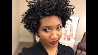getlinkyoutube.com-Twist Out on Tapered Natural Hair