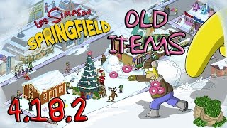 getlinkyoutube.com-[HACK] LOS SIMPSONS TAPPED OUT (NAVIDAD) | OLD ITEMS / ANTIGUOS PERSONAJES | ANDROID/IOS 4.18.2