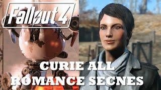 Fallout 4 All Curie Romance Scenes + Sex Scene