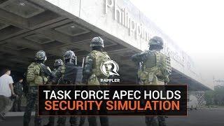 getlinkyoutube.com-Task Force APEC holds security simulation