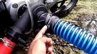 getlinkyoutube.com-Pompa Air Alternatif - Tenaga Sepeda Motor (BUKTI)