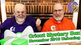 getlinkyoutube.com-Cricut Mystery Box - November 2016 Unboxing