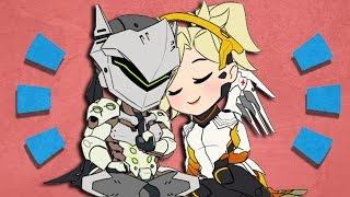 Overwatch - Genji & Mercy's Relationship