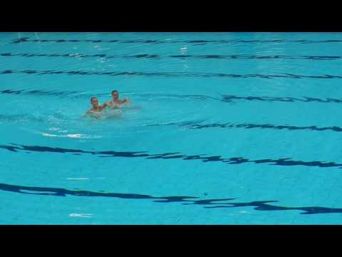 USA Synchronised Swimming Olympic Team 2012 - Dublin NAC