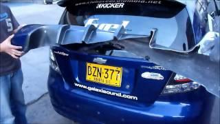 BodyKit Chevrolet Aveo GTi FIBERFLEX