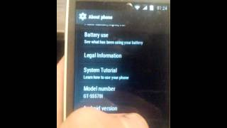 Kitkat on Galaxy mini Gt-s5570i