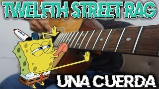 Toco Twelfth Street Rag de Bob esponja con una cuerda