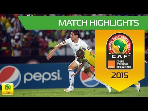 Algeria vs South Africa AFCON 2015