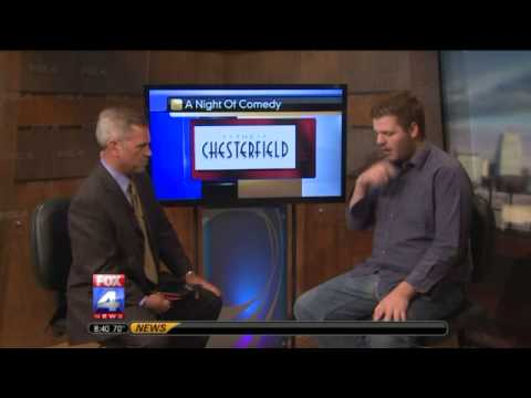 Comedian Dennis Chanay on FOX 4 News Kansas City