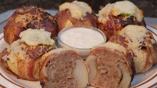getlinkyoutube.com-BBQ Bacon Meatball Stuffed Onions