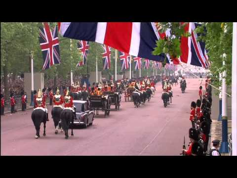 The Procession to Buckingham Palace