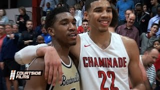 getlinkyoutube.com-Duke Commit Jayson Tatum vs Kentucky Commit Malik Monk - Combined For 76 Points!
