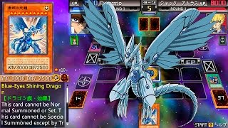 getlinkyoutube.com-Yu-Gi-Oh! 5D's Tag Force 6 - Blue-Eyes Shining Dragon! Seto Kaiba Vs. Jack Atlas!