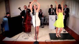 getlinkyoutube.com-Bad Romance - Vintage 1920's Gatsby Style Lady Gaga Cover ft. Ariana Savalas & Sarah Reich