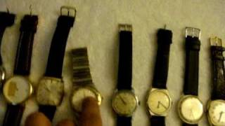 getlinkyoutube.com-My vintage and new watch swiss made collection part 1