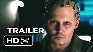 Transcendence Official Trailer (2014) - Johnny Depp