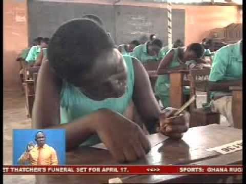 Students Write WASSCE Exams