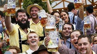 En ünlü bira festivali Oktoberfest başladı