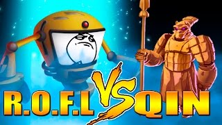 "getlinkyoutube.com-Monster Legends - Mazmorra de Gemas""QIN"" VS ""R.O.F.L"" 