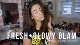 getlinkyoutube.com-Makeup Look | Fresh Glowy Glam
