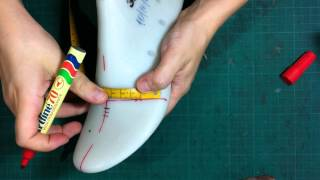 getlinkyoutube.com-How to make shoes:Making a shoe-tutorial classic pump shoes